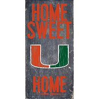 Miami Hurricanes Sweet Home Wall Art