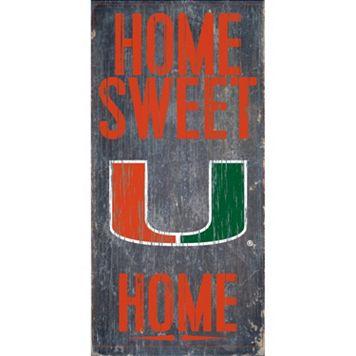 Miami Hurricanes Sweet Home Wall Art