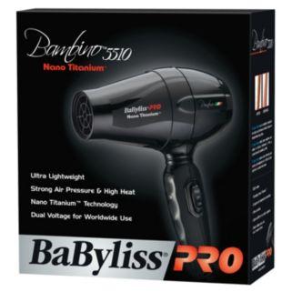 BaByliss Pro Nano Titanium Bambino Compact Hair Dryer