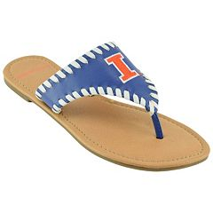 Women's Illinois Fighting Illini Stitched Flip-Flops