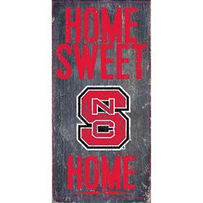 North Carolina State Wolfpack Sweet Home Wall Art