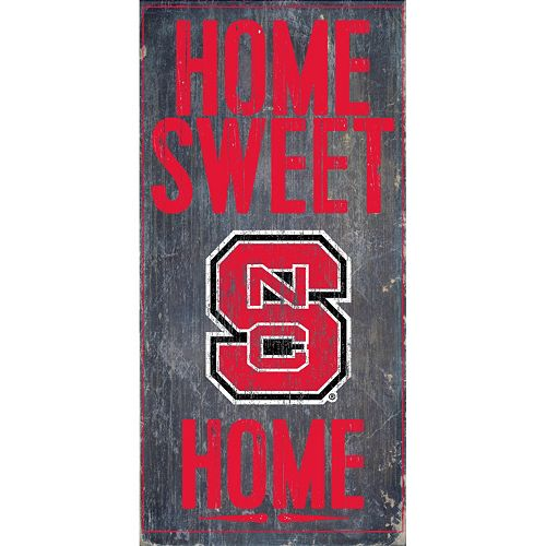 North Carolina State Wolfpack Sweet Home Wall Art