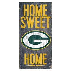 Green Bay Packers Home Sweet Home Sign