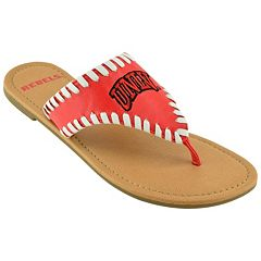 Women's UNLV Rebels Stitched Flip-Flops
