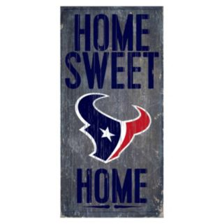 Houston Texans Home Sweet Home Sign