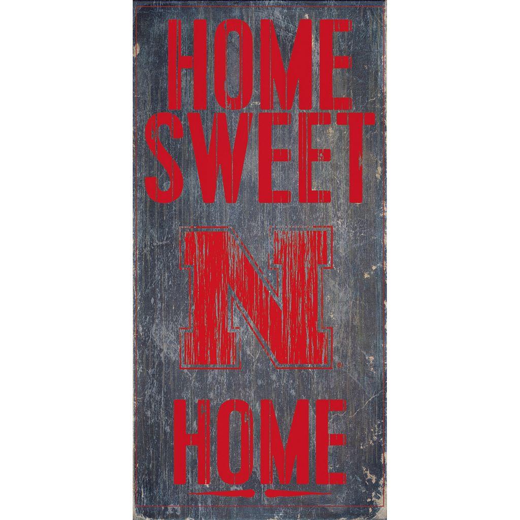 Nebraska Cornhuskers Sweet Home Wall Art