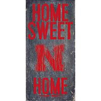 Nebraska Cornhuskers Sweet Home Wall Art