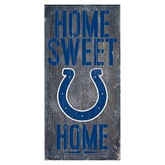 Indianapolis Colts Home Sweet Home Sign