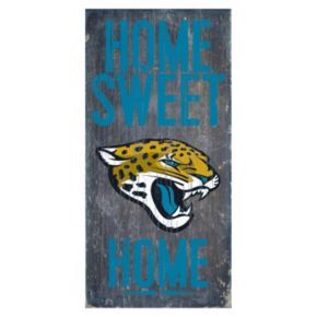 Jacksonville Jaguars Home Sweet Home Sign