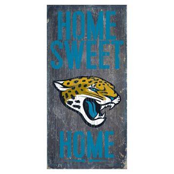 Jacksonville Jaguars Home Sweet Home Sign