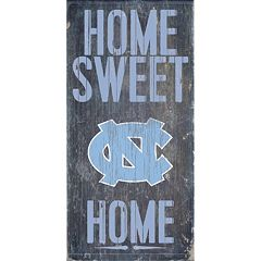 North Carolina Tar Heels Sweet Home Wall Art
