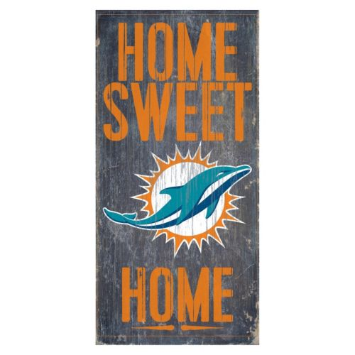 Miami Dolphins Home Sweet Home Sign