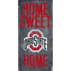 Ohio State Buckeyes Sweet Home Wall Art