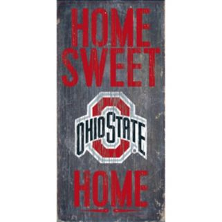 Ohio State Buckeyes Sweet Home Wall Art