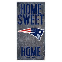 New EnglandPatriots Home Sweet Home Sign