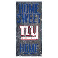 New York Giants Home Sweet Home Sign