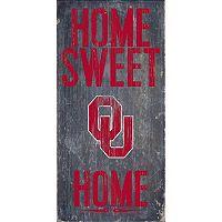 Oklahoma Sooners Sweet Home Wall Art