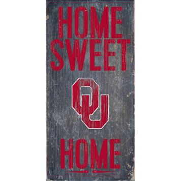 Oklahoma Sooners Sweet Home Wall Art