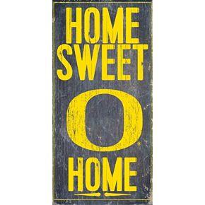 Oregon Ducks Sweet Home Wall Art