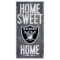Oakland Raiders Home Sweet Home Sign