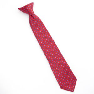 Boys Chaps Circle Dotted Clip-On Tie