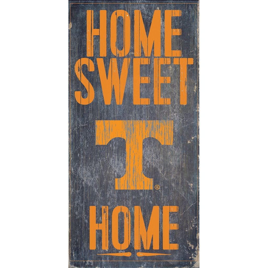 Tennessee Volunteers Sweet Home Wall Art