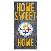 Pittsburgh Steelers Home Sweet Home Sign