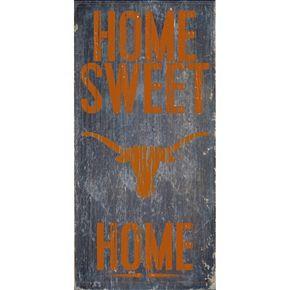 Texas Longhorns Sweet Home Wall Art