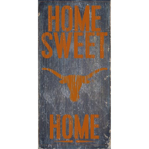 Texas Longhorns Sweet Home Wall Art