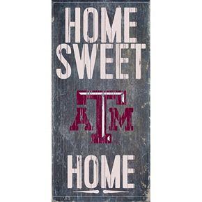 Texas A&M Aggies Sweet Home Wall Art