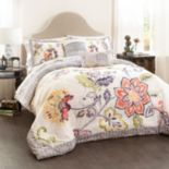 Lush Decor Aster 5 pc Quilted Bed Set