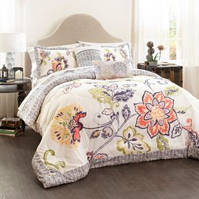 Lush Decor Aster 5-piece Quilted Bed Set