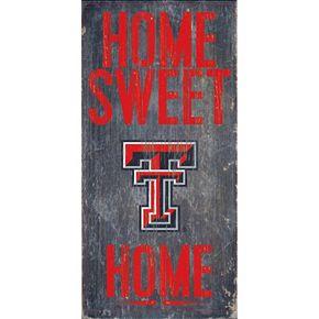 Texas Tech Red Raiders Sweet Home Wall Art