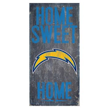 San Diego Chargers Home Sweet Home Sign