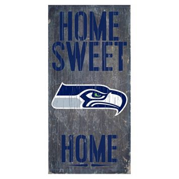 Seattle Seahawks Home Sweet Home Sign