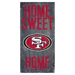 San Francisco 49ers Home Sweet Sign
