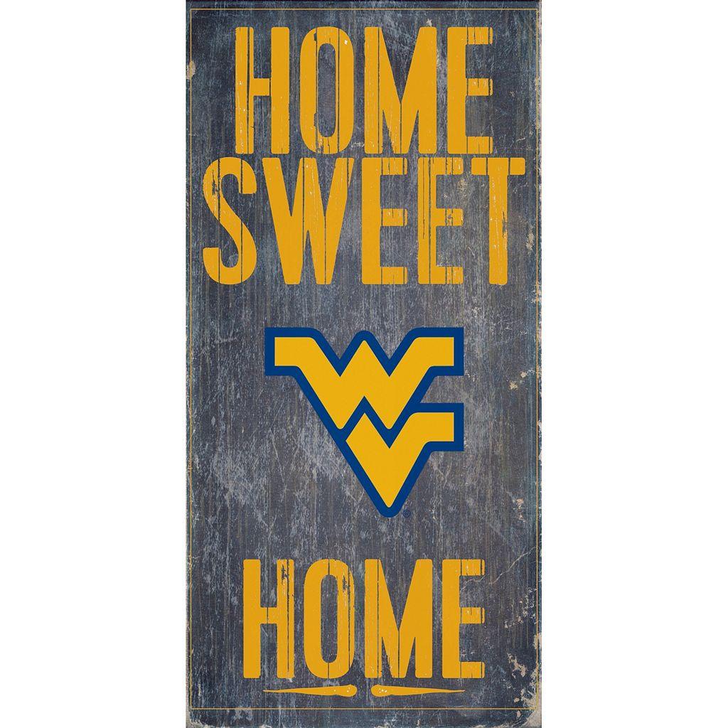 West Virginia Mountaineers Sweet Home Wall Art