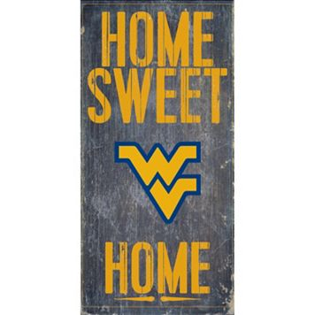 West Virginia Mountaineers Sweet Home Wall Art