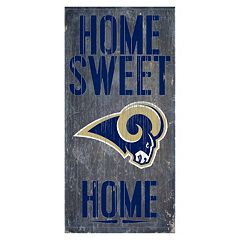 Los Angeles Rams Home Sweet Home Sign