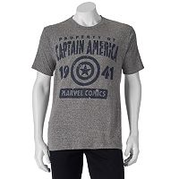 Men's Marvel Captain America 75th Property of America Tee
