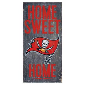 Tampa Bay Buccaneers Home Sweet Home Sign
