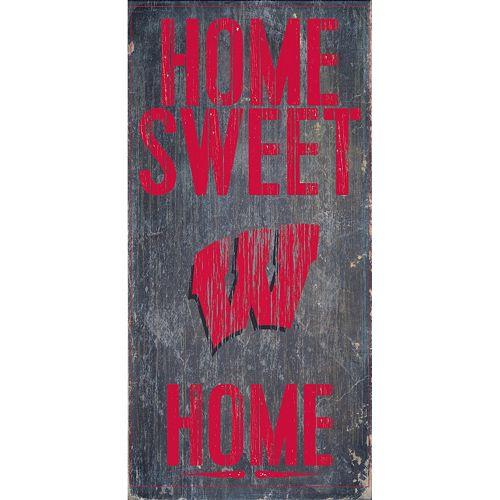 Wisconsin Badgers Sweet Home Wall Art