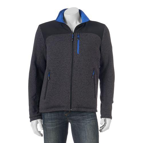Men S Zeroxposur Density Reversible Sweater Fleece Hybrid