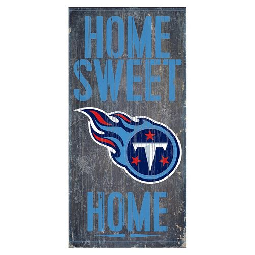 Tennessee Titans Home Sweet Home Sign