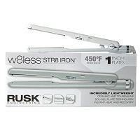 Rusk W8less Professional Ceramic & Tourmaline 1 in Str8 Flat Iron