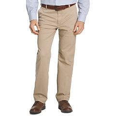 Men's IZOD Straight-Fit Performance Plus Flat-Front Chino Pants