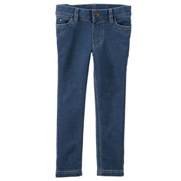 Baby Girl Carter's French Terry Denim Jeggings