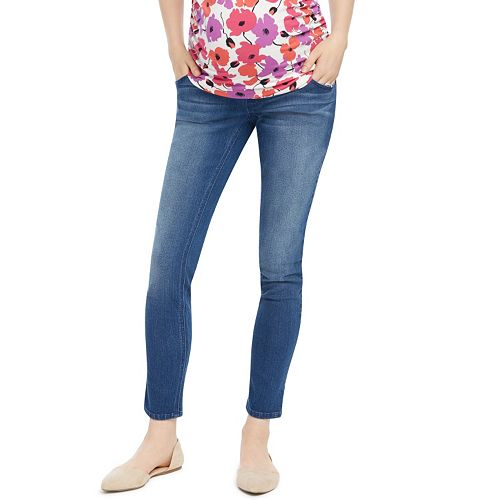 310d21a33ed1a Petite Maternity Oh Baby by Motherhood™ Secret Fit Belly™ Faded ...