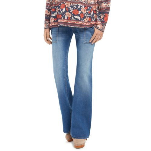 Maternity Oh Baby by Motherhood™ Secret Fit Belly™ Faded Flare Jeans