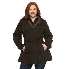 Womens Hooded Raincoat Coats &amp Jackets - Outerwear Clothing | Kohl&39s